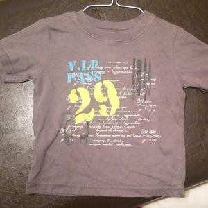 Vip pass tshirt 2t